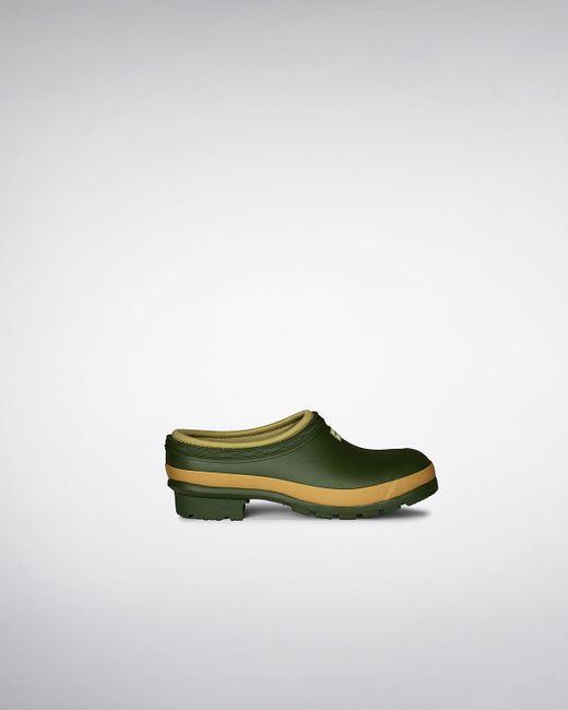 Hunter | Green Women's Gardener Clogs | Lyst