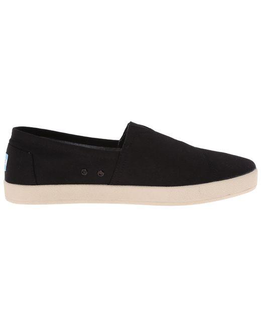 TOMS | Black Avalon Sneaker for Men | Lyst
