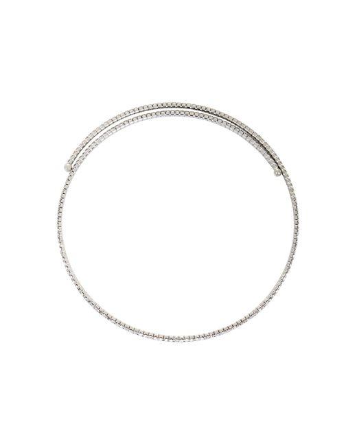BCBGMAXAZRIA - Metallic Bcbg Pave Choker Necklace - Lyst
