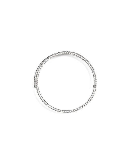 BCBGMAXAZRIA | Metallic Glass Stone Bracelet | Lyst