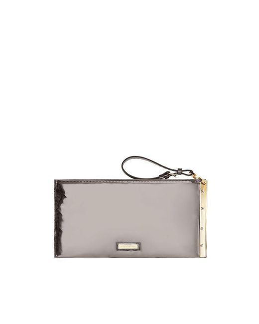 BCBGMAXAZRIA - Multicolor Zelda Faux-leather Wristlet Clutch - Lyst