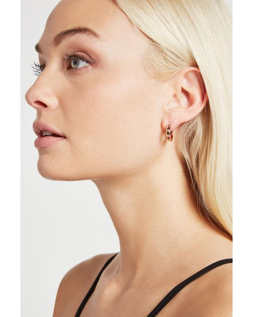 BCBGeneration - Multicolor Small Stud Huggie Earring - Lyst