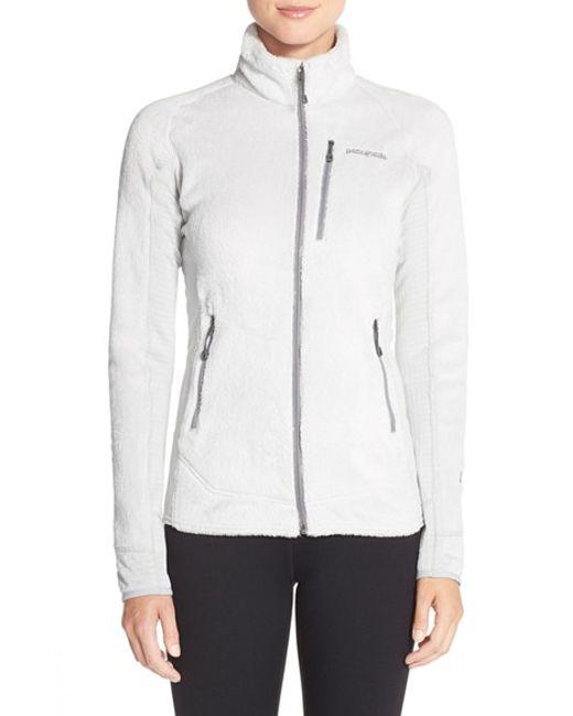 Patagonia | Gray 'r2' Zip Front Fleece Jacket | Lyst