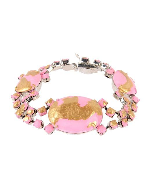 Tom Binns | Pink Bracelet | Lyst