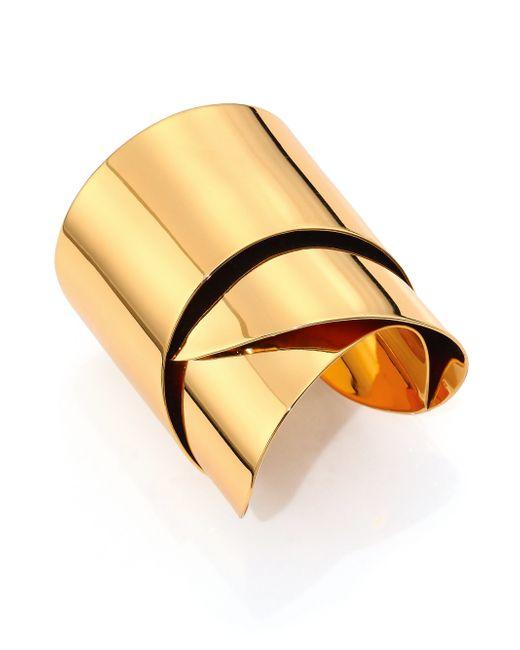 Alexis Bittar | Metallic Miss Havisham Liquid Geometric Ribbon Cuff Bracelet | Lyst