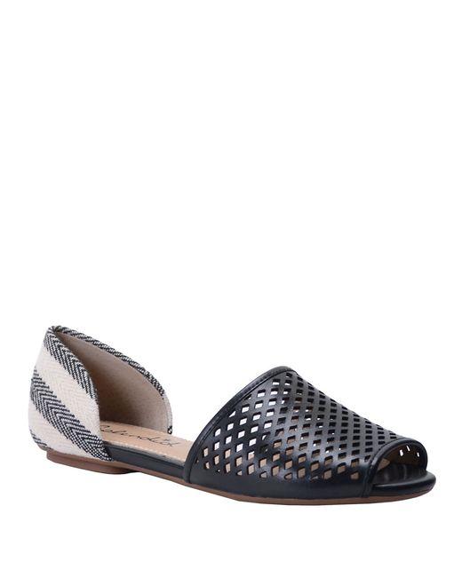 Splendid | Black Addisan Leather D Orsay Flats | Lyst