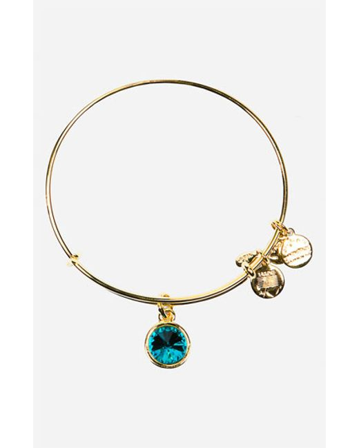 alex and ani birthstone expandable wire bangle december