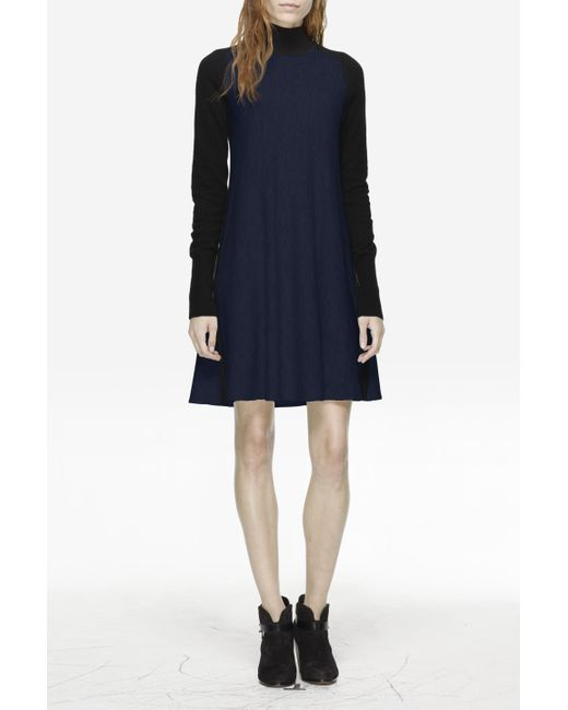 Rag & Bone | Blue Francine Sweater Dress | Lyst