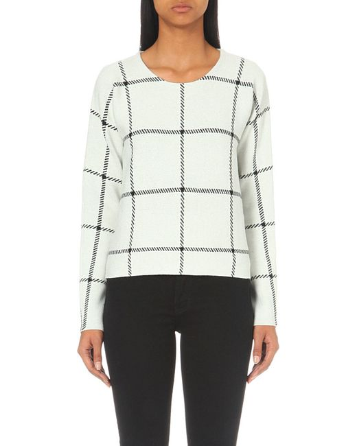 Maje   Natural Mademoise Knitted Jumper   Lyst
