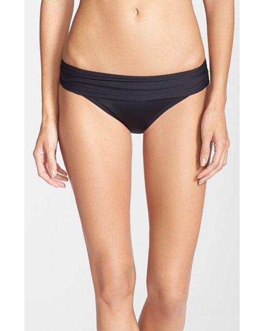 La Blanca   Black 'renew & Refresh' Hipster Bikini Bottoms   Lyst
