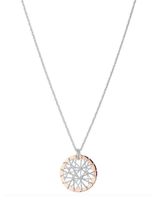 Links of London | Pink Dream Catcher Rose Gold Pendant | Lyst