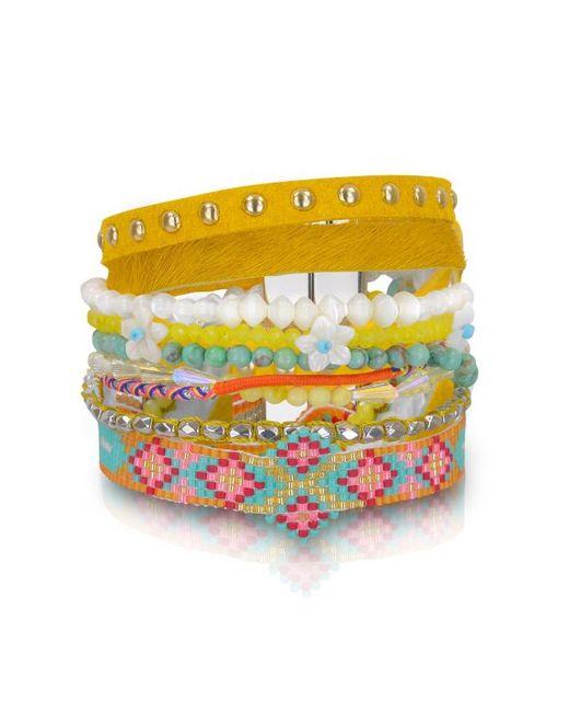 Hipanema   Multicolor Aloha Bracelet   Lyst