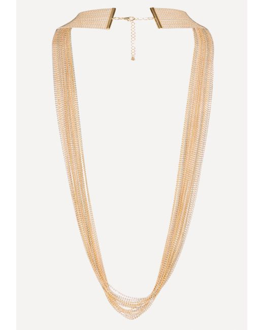 Bebe - Multicolor Long Beaded Necklace - Lyst
