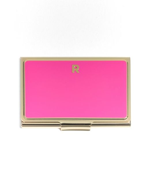 kate spade 'one in a million' business card holder in