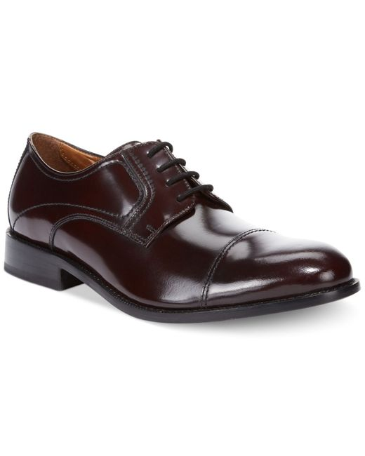 Bostonian | Red Men's Calhoun Limit Oxfords for Men | Lyst