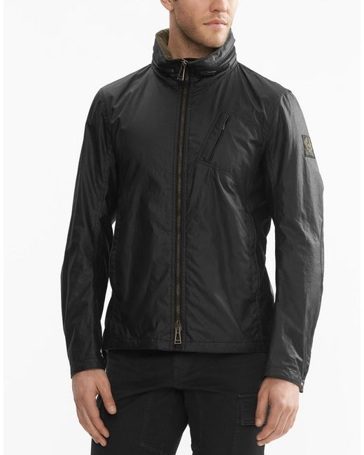 Belstaff | Black Citymaster Jacket In Signature 6oz Waxed Cotton for Men | Lyst