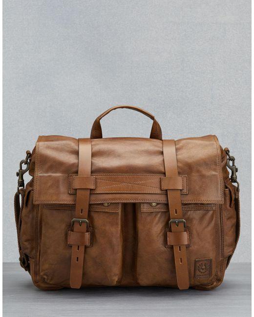 31691a974a Belstaff - Brown Colonial Messenger Shoulder Bag for Men - Lyst ...