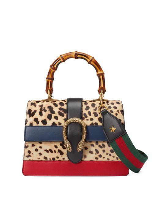 Gucci   Multicolor Dionysus Calf Hair Satchel Bag   Lyst