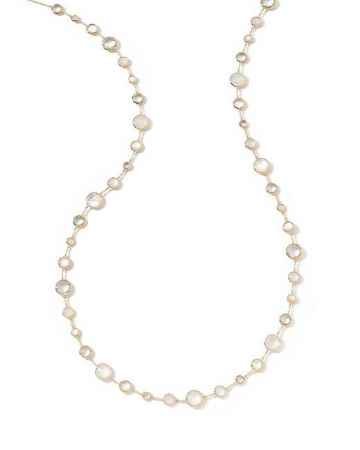 Ippolita - Metallic 18k Gold Lollitini Long Necklace In Flirt - Lyst
