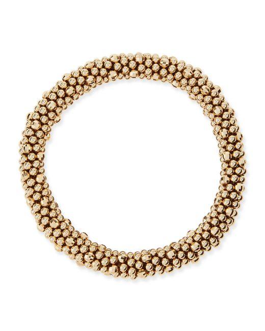 Meredith Frederick | Metallic Irina 14k Gold Mirrored Bead Bracelet | Lyst