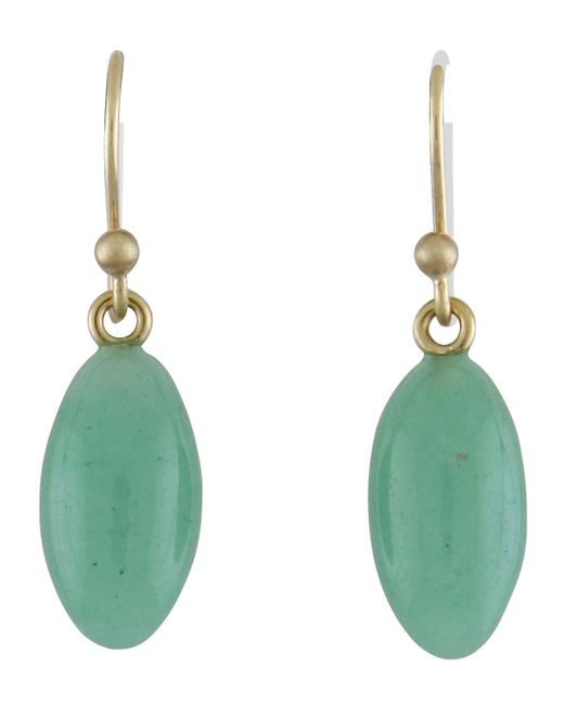 Ted Muehling - Green Aventurine Berry Earrings - Lyst