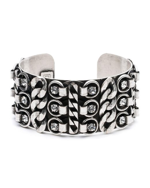 DANNIJO | Metallic Quinn Statement Cuff Bracelet | Lyst