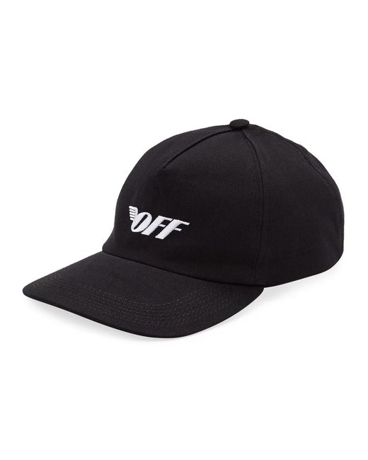 edb61d664b8 Lyst - Off-White c o Virgil Abloh Off Wings Baseball Cap in Black