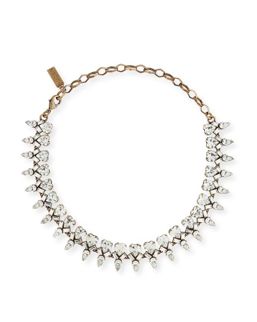 Auden | Multicolor Arya Clear Crystal Statement Necklace | Lyst