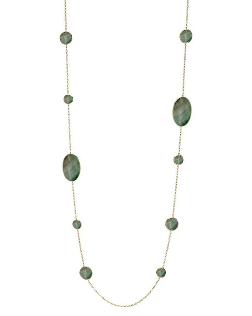Ippolita   Metallic Shell Station Necklace   Lyst