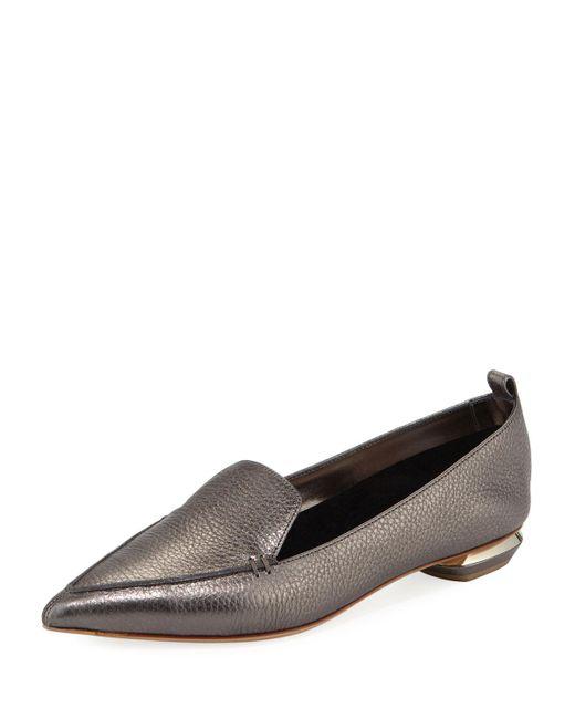 Nicholas Kirkwood - Multicolor Beya Metallic Leather Loafer - Lyst