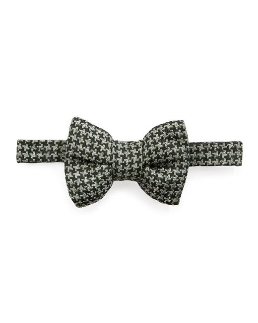 Tom Ford - Green Houndstooth Classic Bow Tie for Men - Lyst