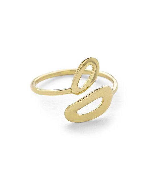 Ippolita - Metallic Cherish Mini Mid-finger Open Ring - Lyst