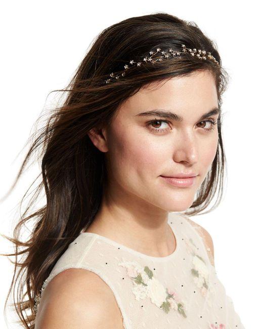 Jennifer Behr - Metallic Orion Crystal Circlet Headband - Lyst