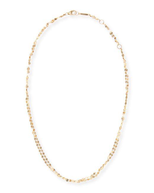 Lana Jewelry - Metallic Blake Two-strand Choker Chain Necklace - Lyst