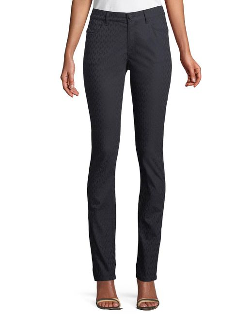 Lafayette 148 New York - Blue Thompson Curvy Micro-pyramid Jeans - Lyst