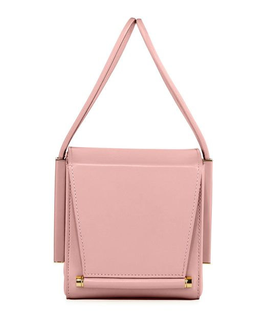 Roksanda - Pink Smooth Leather Box Bag - Lyst
