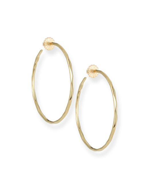 Ippolita - Metallic Thin Glamazon Hoop Earrings - Lyst