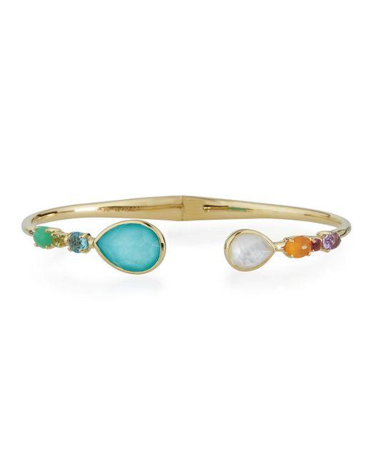 Ippolita | Multicolor Mixed-station Bangle Bracelet | Lyst