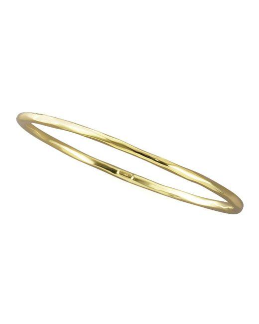 Ippolita - Metallic Thin Faceted Bangle - Lyst