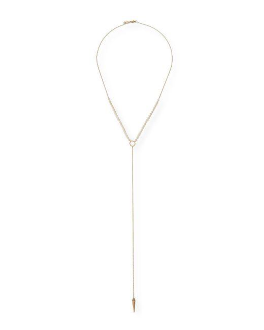 Sydney Evan | Multicolor Pearl-beaded Lariat Necklace | Lyst