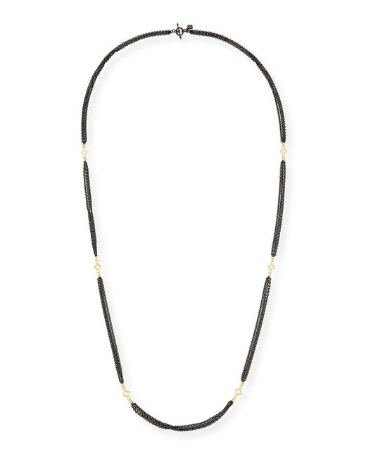 Armenta - Metallic Old World Three-strand Cable Chain Necklace - Lyst