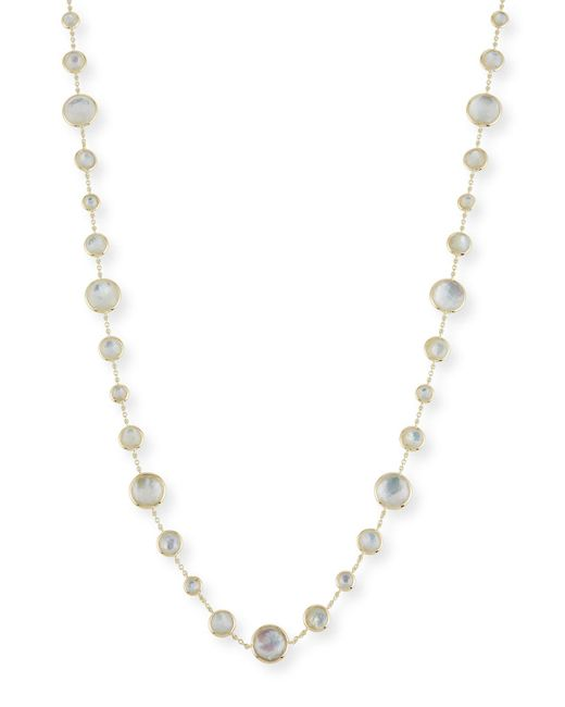 Ippolita - Metallic 18k Lollipop® Lollitini Long Necklace In Mother-of-pearl Doublet & Mother-of-pearl - Lyst