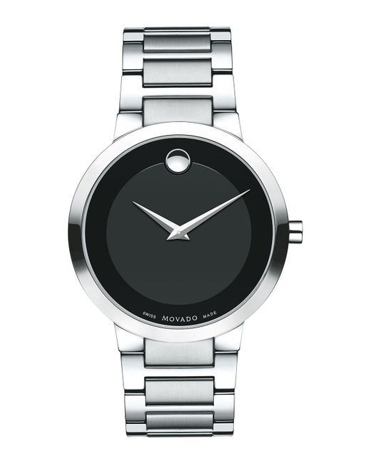 Movado - Black 39.2mm Modern Classic Watch for Men - Lyst