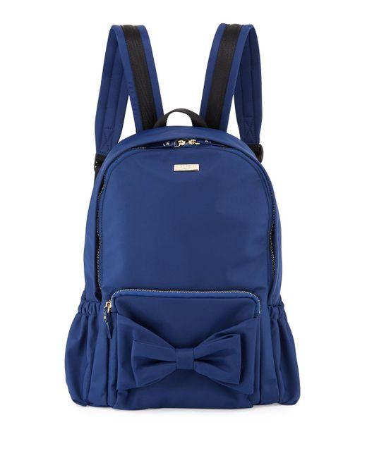 Kate Spade | Blue Girls' Back To School Nylon Backpack | Lyst