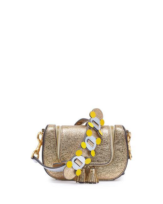 Anya Hindmarch - Metallic Vere Mini Circulus Shoulder Bag - Lyst