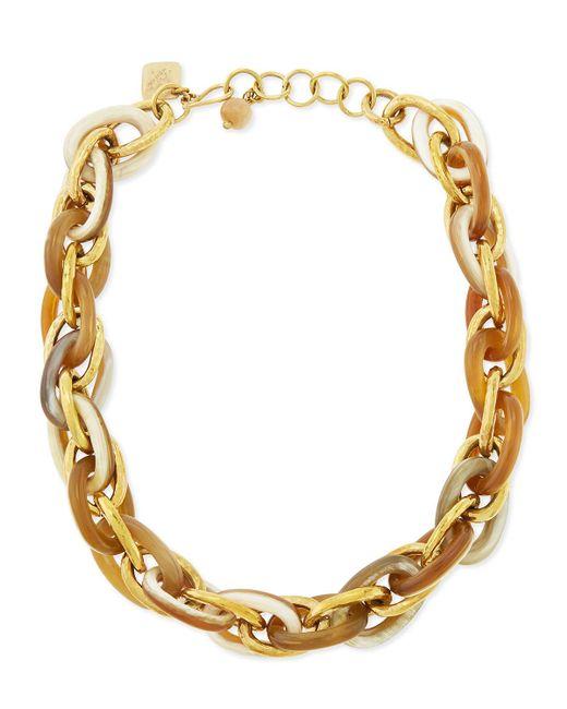 Ashley Pittman | Metallic Ndovu Light Horn & Bronze Necklace | Lyst