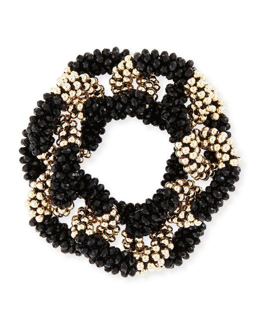 Meredith Frederick - Metallic Elsa 14k Gold & Onyx Link Bracelet - Lyst