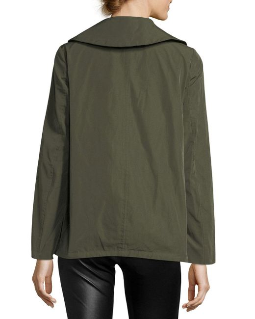 Moncler. Women's Green Sodalite Safari Belted Jacket