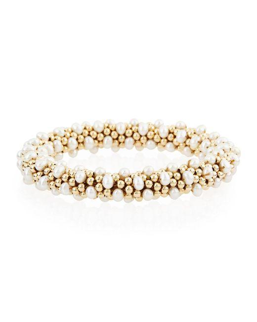 Meredith Frederick | Metallic Caroline 14k Gold & Pearl Bracelet | Lyst