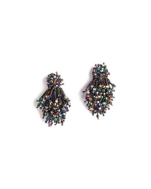 Mignonne Gavigan - Black Burst Beaded Statement Earrings - Lyst